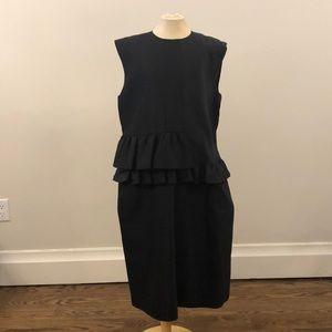 NWT Paul Smith Womens Sleeveless Dress Blk Size46